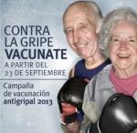 Campaña gripe Osakidetza 2013